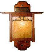 Craftsman Style Lamp by Greene & Greene
