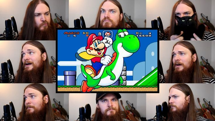 Multitrack A Capella Covers of Music From 'Super Mario' Video Games AMAZING!!!