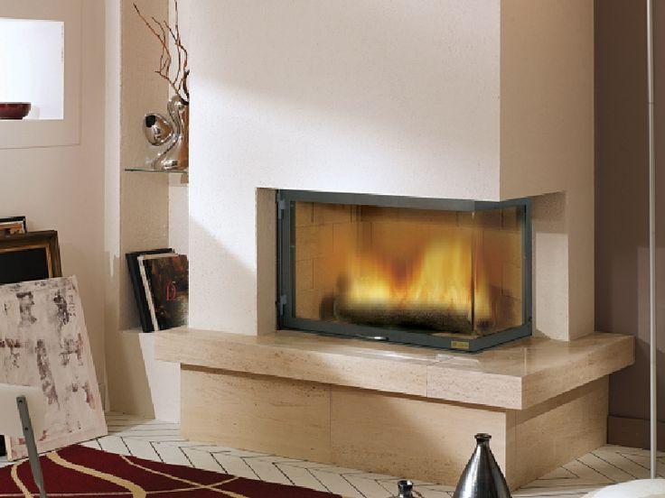 Routot - Seminee moderne de colt   Exclusiv Design - Apa&Foc