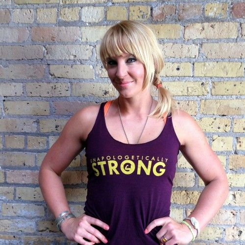 """""""Unapologetically Strong"""" Women's Racerback"""