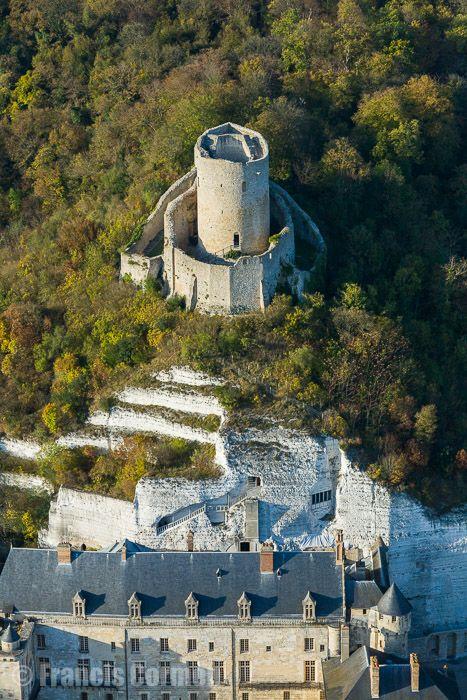 Château de La Roche Guyon - bord de Seine - La Roche Guyon 95780 - Val d'Oise (95) - Ile de France