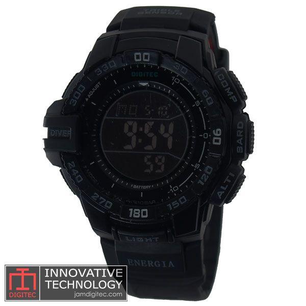 jam tangan digitec DG-2070T full black