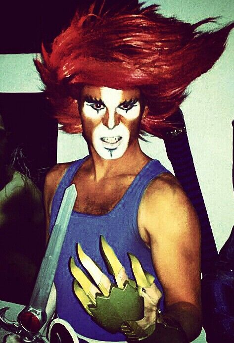 Leono, lion-o, thundercats, costume, Gomont, Figarola