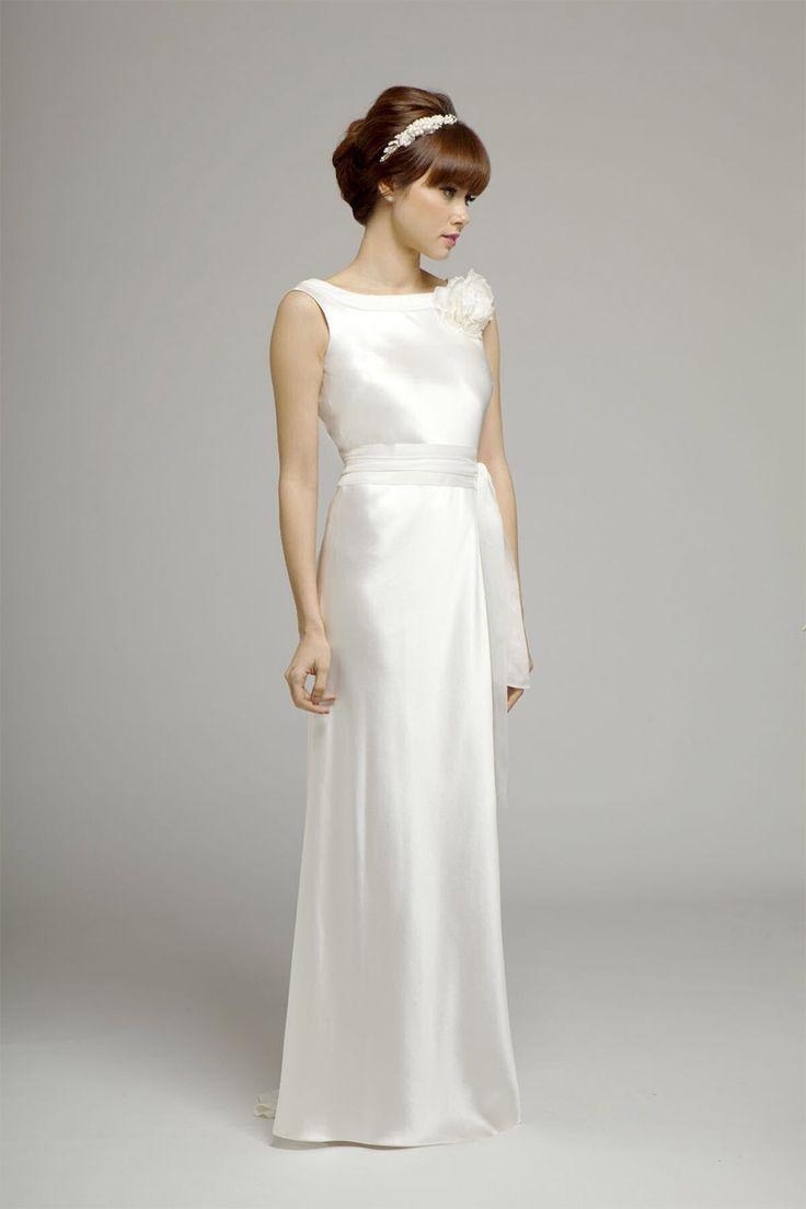 1000 ideas about mature bride dresses on pinterest for Sophisticated wedding dresses older brides