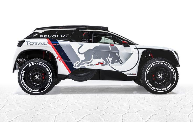 Peugeot ha presentado su nuevo coche para el Dakar 2017, defensor del título y que de nuevo estará en las manos de Carlos Sainz. Lee la noticia.
