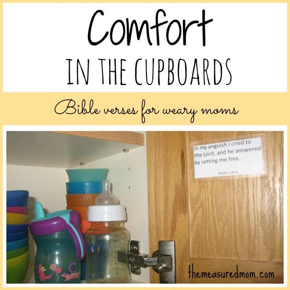 87 best bible study and memorization images on pinterest bible comfort in the cupboards comforting bible verses for weary moms fandeluxe Choice Image