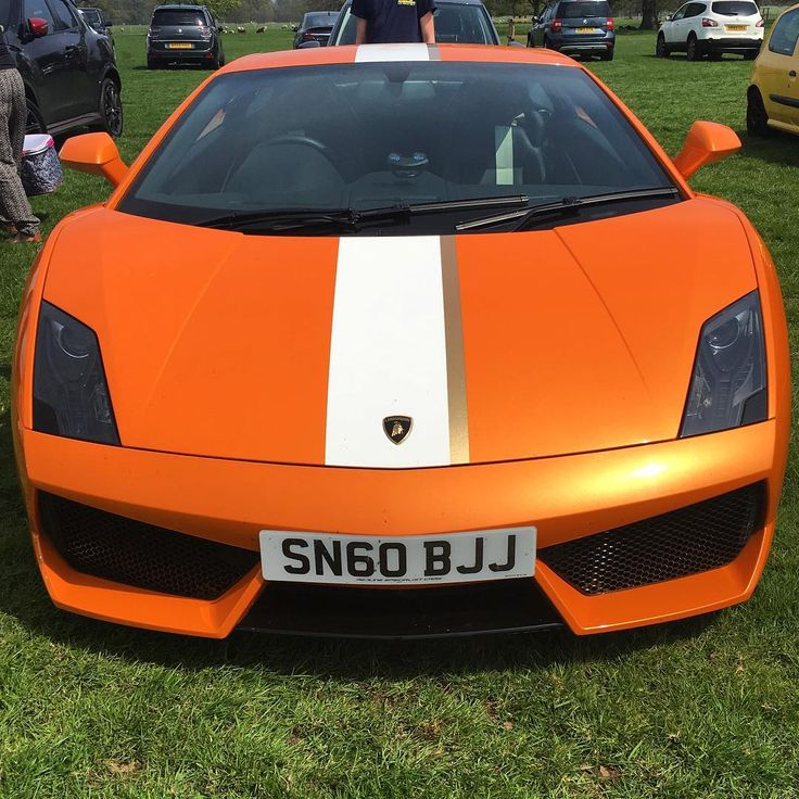 Stunning Lamborghini Gallardo Balboni in the car park at yesterday's #CarsInThePark #CITP
