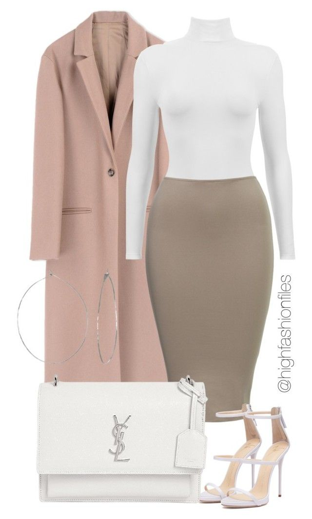 """""""So sophisticated"""" by highfashionfiles ❤ liked on Polyvore featuring Harmony Paris, Yves Saint Laurent and Phyllis + Rosie"""