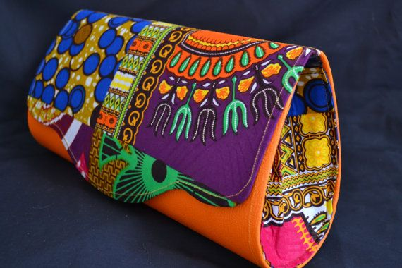Embrayages imprimés africains par afrika2amerika sur Etsy