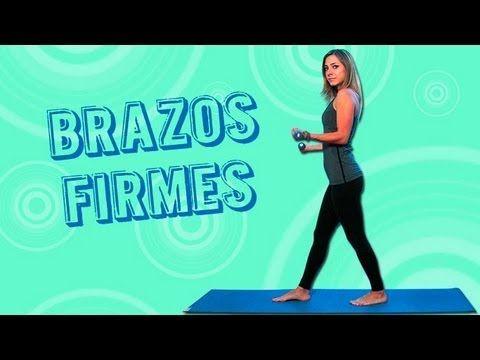 Ejercicios para adelgazar los brazos (reducir grasa y tonificar)