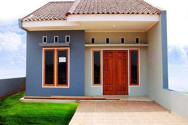 Model Rumah Sederhana 1 Lantai Minimalis Di Kampung Desain