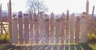 Bildergebnis Fur Zaunlatten Figuren Zaunbau Pinterest Garden