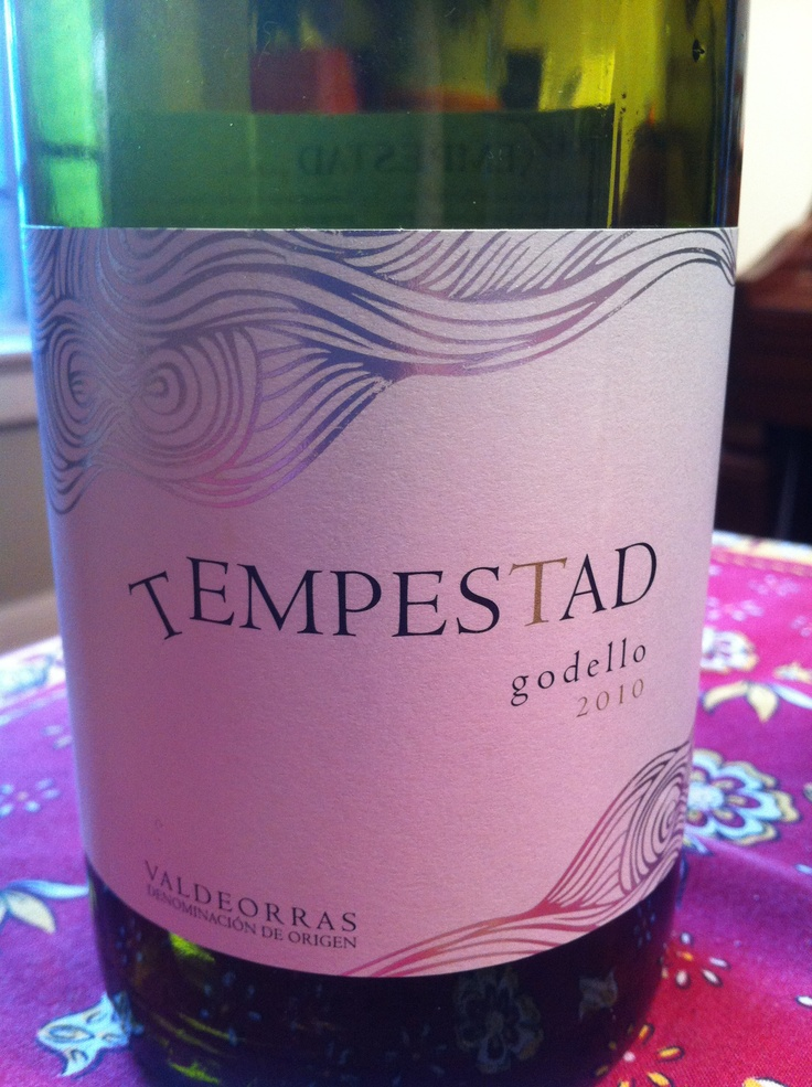 A Spanish white? Tempestad won me over in one flamenco beat! A little peppery, notes of quince and peach and a finish that goes on and on. Amazing value.