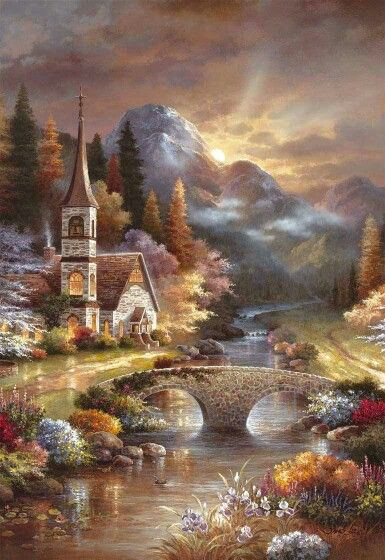 Thomas Kinkade                                                       …                                                                                                                                                                                 More