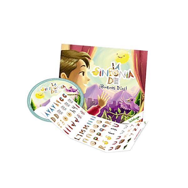 CD Personalizado Buenos Días. Música ideal para niños de 0 a 5 años, con canciones personalizadas con el nombre que elijas, que los harán soñar, bailar y disfrutar.  Recuerda poner el nombre del niño que quieres en los comentarios al momento de realizar la compra en el carrito.