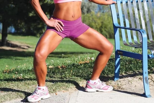 The exercises are the combination of strengthening and cardio workouts which are perfect for the inner and outer thighs. You will need to spare just 5 minutes of your time to practice this highly recommended exercises. It is guaranteed that you will get the results but alsothe burninglegs, too.