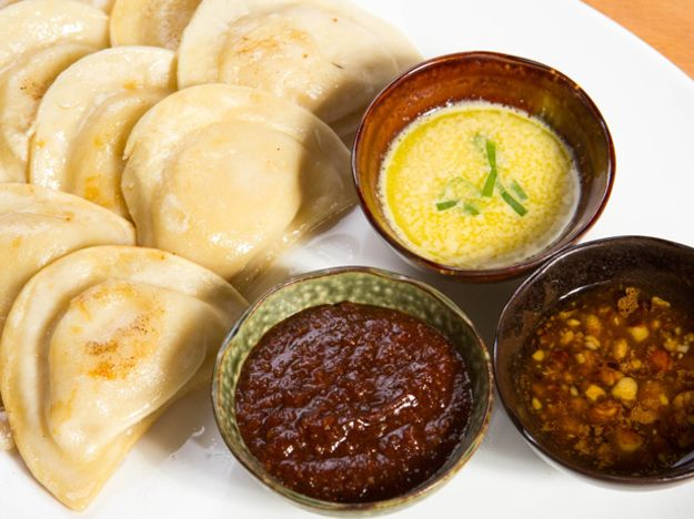Dale Talde's Dipping Sauces for Mrs. T's Pierogies