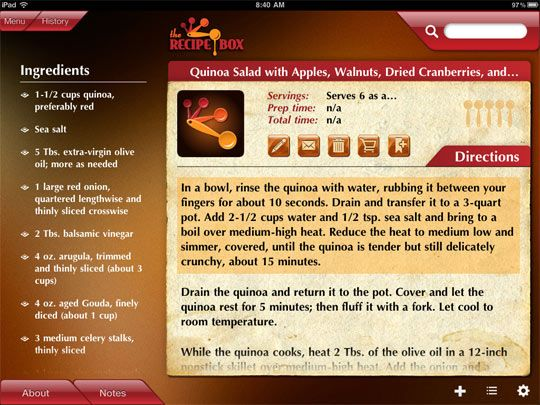 The 25 best the recipe box app ideas on pinterest the recipe box a new recipe organizer for your ipad forumfinder Images