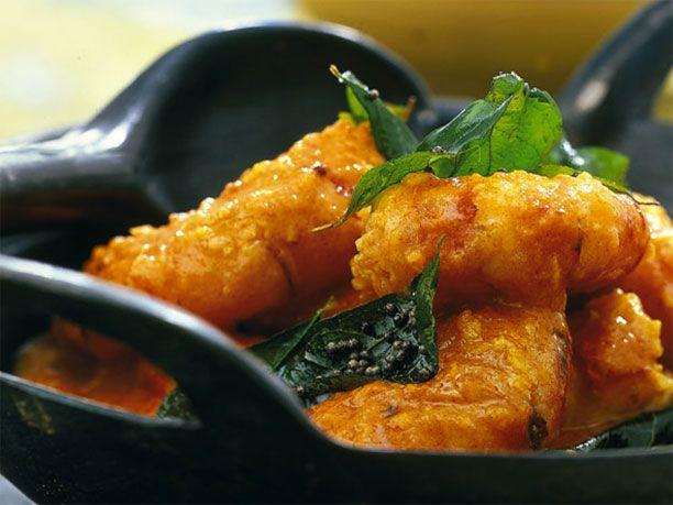 Zum Rezept für Garnelen-Curry