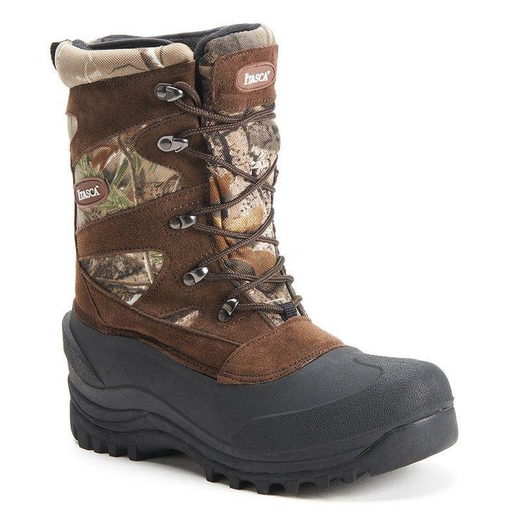 Itasca Ketchikan Men's Waterproof Winter Boots, Size: 14, Med Brown