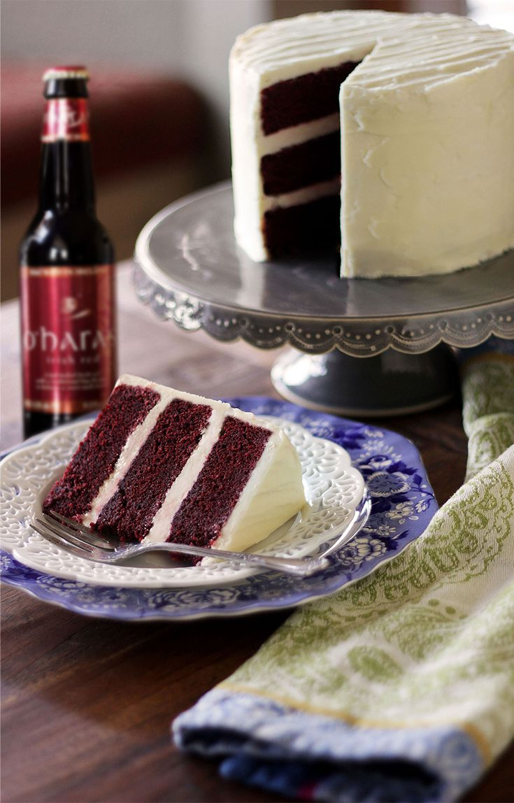 O'Hara's Irish Red Velvet Cake with Bailey's Buttercream | Global Table Adventure