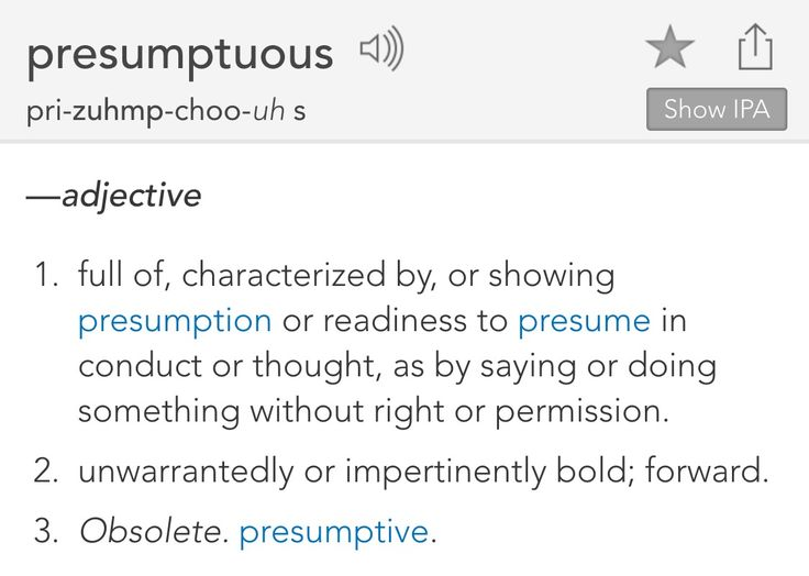 230 best Definitions images on Pinterest Definitions, Words and - synonym for presume