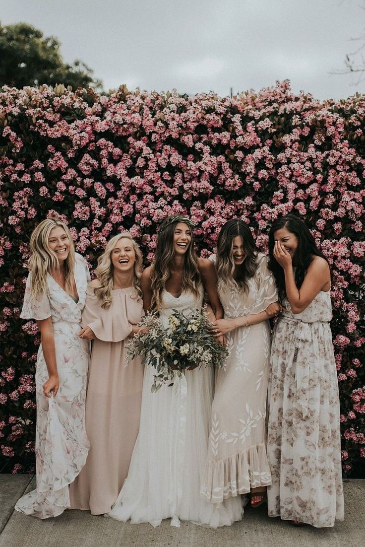 25 Stunning mismatched bridesmaid clothes for a big day – bridesmaid dr…