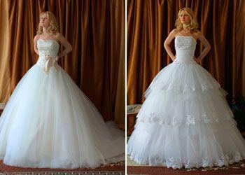 Бальные (пышные) свадебные платья LADYBIRD
