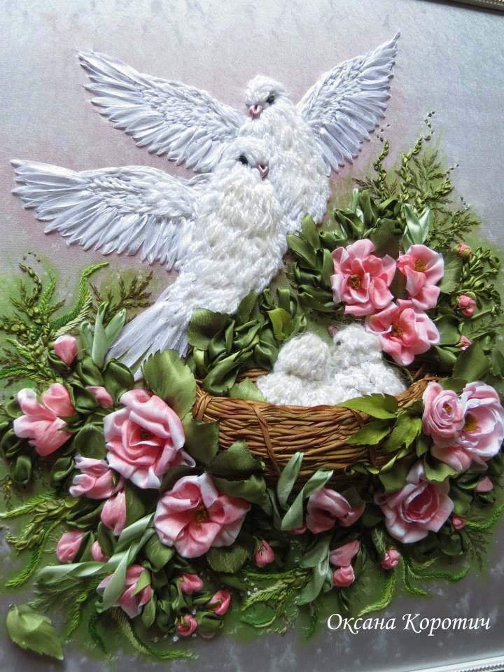 The best silk ribbon embroidery ideas on pinterest