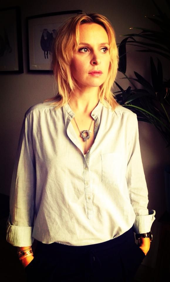 Paulina in TAKK necklace.