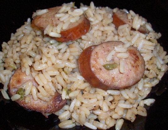 Make and share this Portuguese Sausage Rice recipe from Food.com.