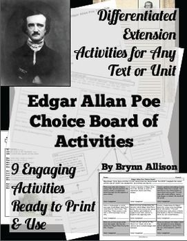 a look at edgar allan poes own criteria in his short story Overview edgar allan poe invented the detective story, perfected the horror tale, and first articulated the theory of the modern short story as well as the idea of pure poetry a hero of perhaps because his standards were so high, a remarkable share of poe's poems are excellent in their technique and unity his poems.