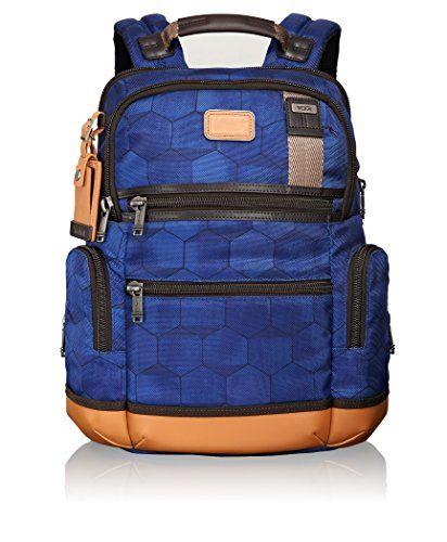 Tumi Alpha Bravo Knox Multipurpose Backpack, Blue Geo Print, One Size – Shop Camping