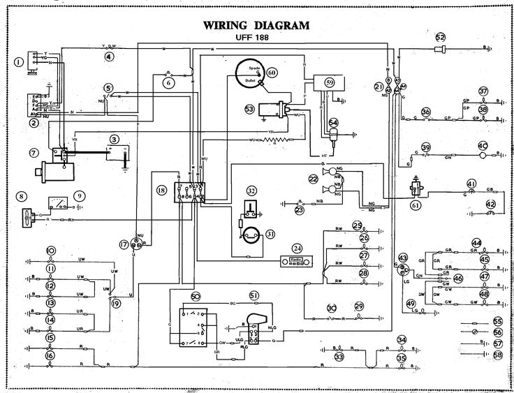 mga alternator and negative earth conversion incredible wiring diagram for