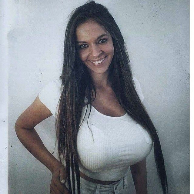 latina with huge natural tits