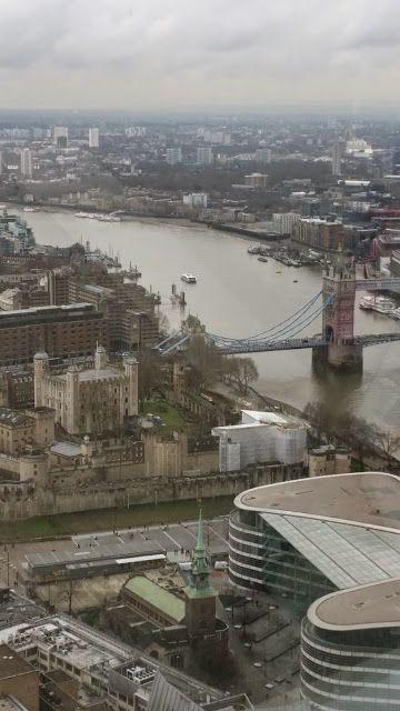 London Sky Garden view