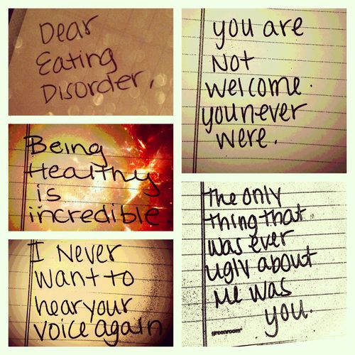 #edrecovery #recovery #eatingdisorder: