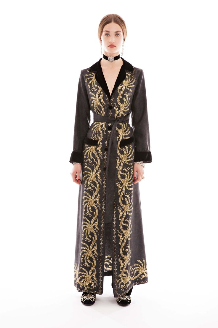 F.R.S For Restless Sleepers Lelantos Long Dress Coat - click to shop