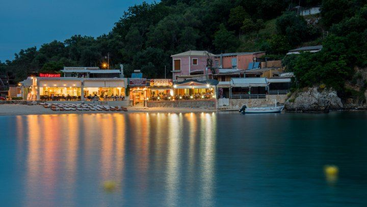 *The Best Places to Eat in Corfu - Travel Blog Post - Yialos Taverna, Paleokastritsa, Corfu*