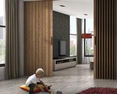 Imagen puerta plegable madera del artículo Puertas Plegables