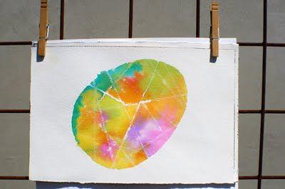 egg watercolour art (3 parts): Watercolor Eggs, Watercolor Art, Kids Crafts, Easter Eggs, Easter Art, Eggs Art, Eggs Watercolor, Water Colors, Art Projects