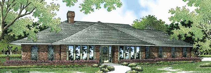 33 best House Plans images on Pinterest   Home plans  Home design     Eplans Ranch House Plan   Full of Function and Character   2240 Square Feet  and 4 Bedrooms from Eplans   House Plan Code