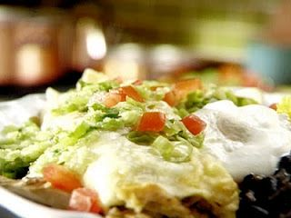 Curfew Bites: Whip up something new: Chicken Enchiladas with Roasted Tomatillo Chile Salsa