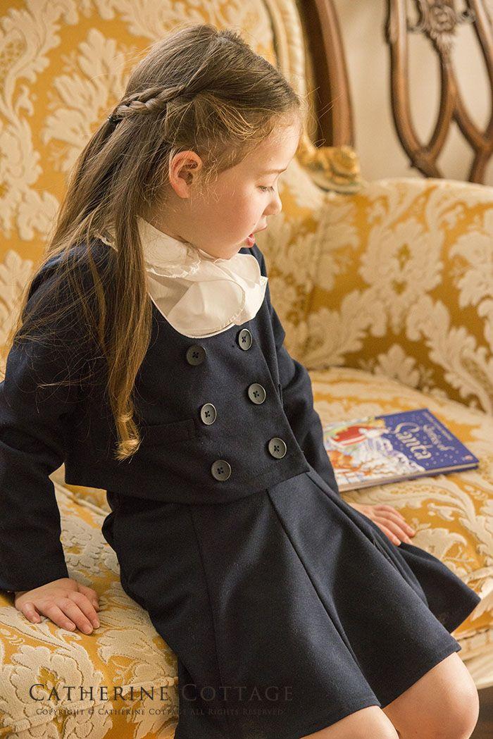 入学式 女の子スーツ ノーカラーニットスーツ