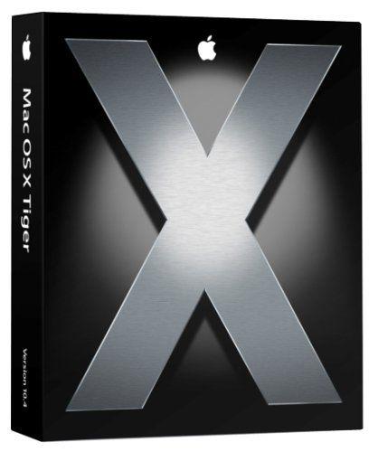 Mac OS X Tiger 10.4 (2005)