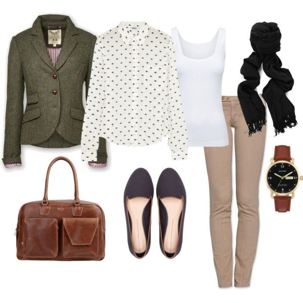 """Grad school"" by klvctr on Polyvore"