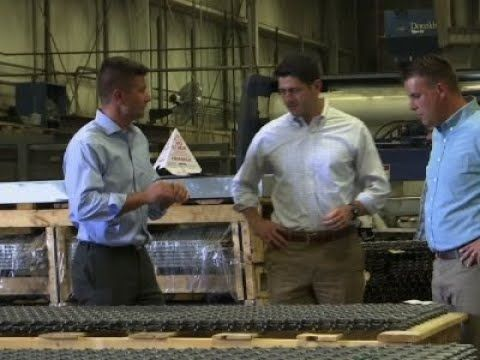 WATCH: Angry GOP Factory Worker Calls-Out Paul Ryan to His Face | The Sean Hannity Show