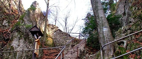 Zamkowa Góra nieopodal Krościenka nad Dunajcem