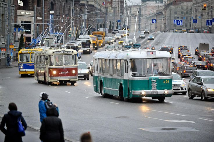 Trolleybus Parade to be held in Moscow