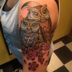 WOMEN'S BACK OWL TATTOOS - Google Search